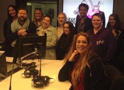 Radio students