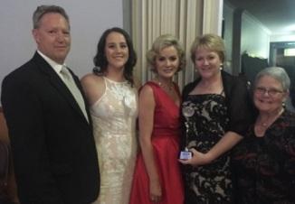 Annette G family 2016 WOW awards