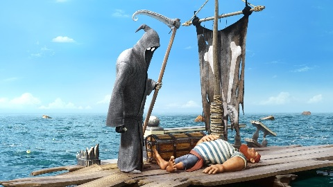 Animation death sails