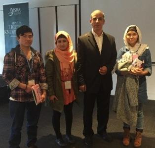 Muslim youth delegates Wagga