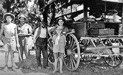 Indian hawker circa 1940