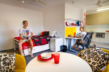 New student accommodation at CSU in Wagga Wagga in 2014.