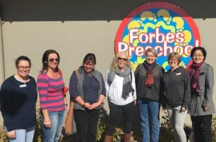 Forbes Preschool visit