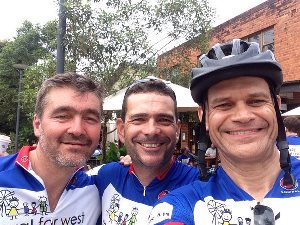 Team CSU in the Royal Far West Ride 2016