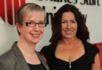 Sarah Bowen and Liz Smith