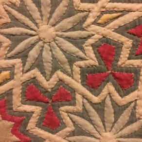 Egyptian textile 1 closeup