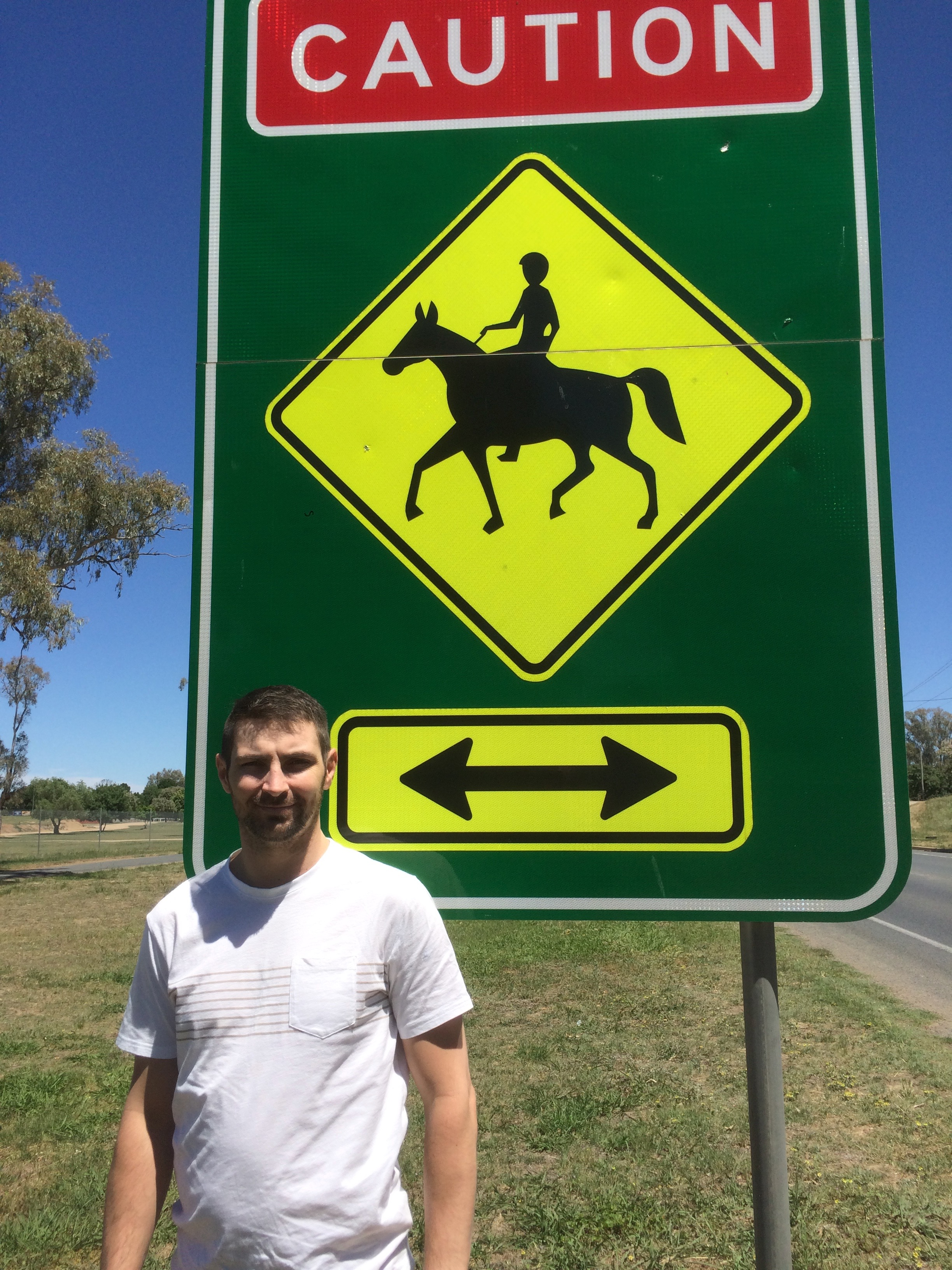 Scott Cox petitions for horse crossing