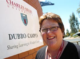Ms Tracey Simpson,  Associate Head of the School of Teacher Education at CSU