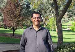 CSU researcher Dr Yeslam Al-Saggaf.