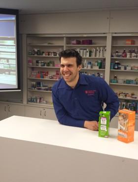CSU pharmacy student Jamie Pisani