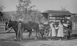 Indian hawkers in the Riverina