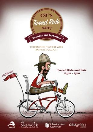 Tweed Ride 2017 poster