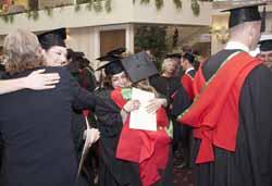 Graduation at CSU in Ontario