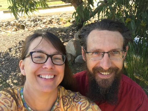 Professor David Watson and Dr Maggie Watson