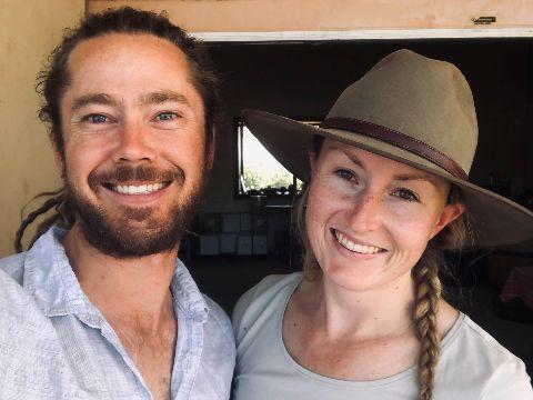 Nadja Wallington and Steve Mobbs
