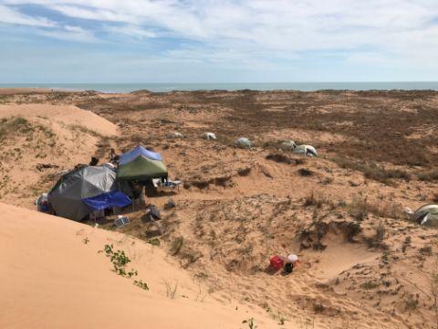 Ben's campsite