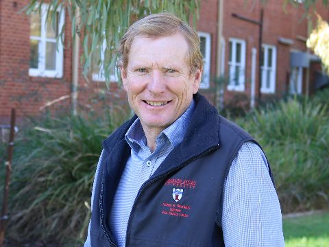Charles Sturt Professor Bruce Allworth